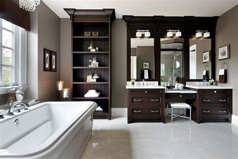taupe bathroom gray ama designs