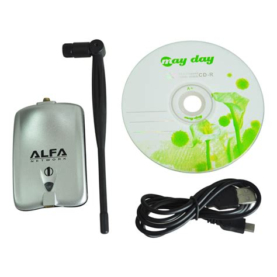 Usb Wifi Di usb scheda di rete wifi wireless lan 500mw antenna ab ebay