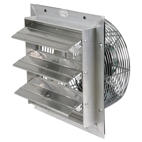 12 inch exhaust fan with louvers 12 quot durafan select speed shutter fans qc supply