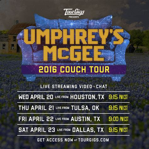umphreys couch tour um couch tour returns from texas grateful web