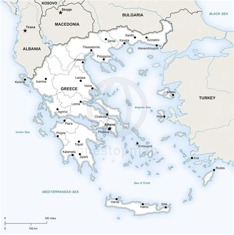 greece map vector 17 best images about maps of europe continent regions