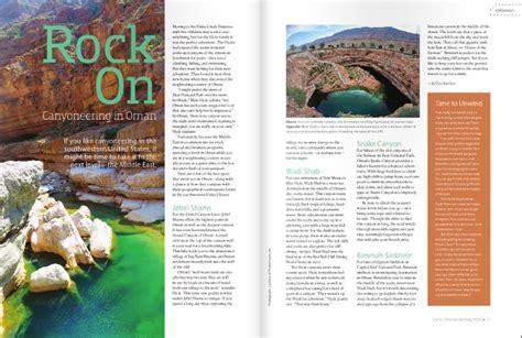 magazine layout inspiration 2014 stowaway spring 2014