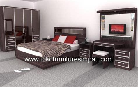 Ranjang Rak Sepatu Nakas Bedroom Set Mini kamar set dallas toko kasur bed murah simpati