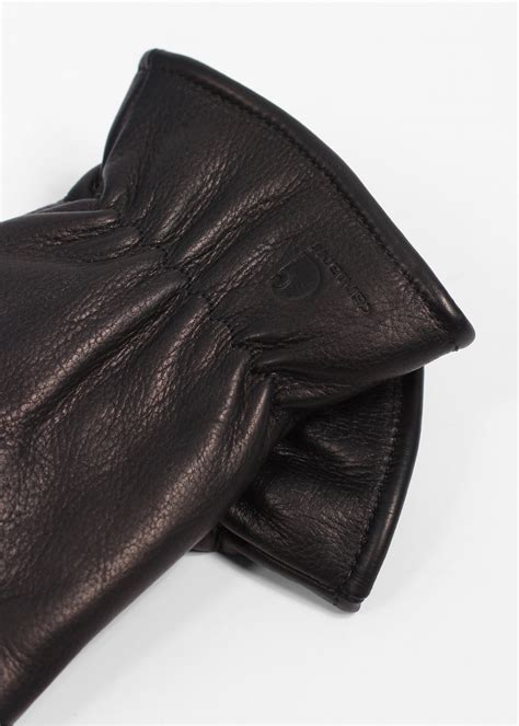 Cowhide Leather Gloves carhartt lined cowhide leather gloves black