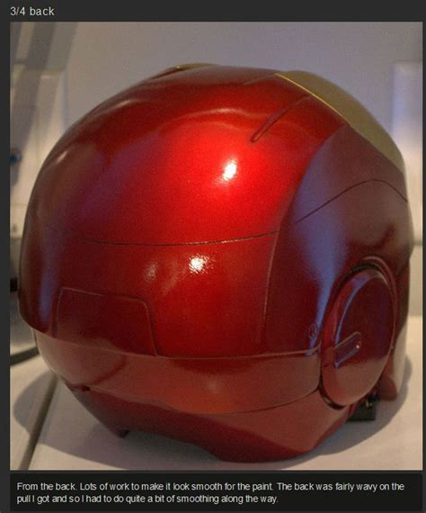How To Make A Ironman Helmet Out Of Paper - how to build your own iron helmet 31 pics