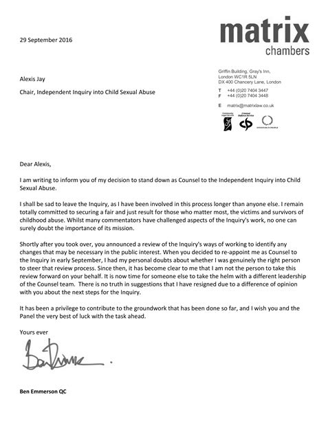 best resignation letter examples the balance sample word document