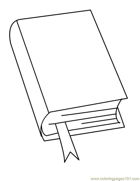 book cover coloring page coloring pages