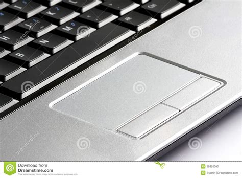 Touchpad Pc laptop computer touchpad stock photo image of connection