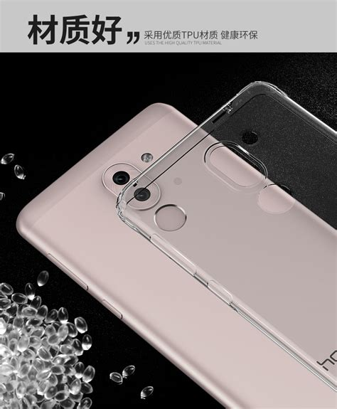 Casing Huawei Honor 6x Logo Custom silicone anti drop airbag bumper cas end 4 23 2018 3 39 am