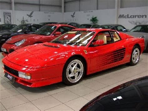 featured cars for sale 1990 testarossa for sale