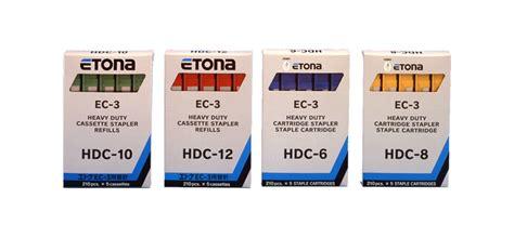 Handy Stapler Etona Hd 10 Staples Limited etona series hdc