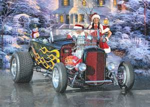 5 rods santa could be driving this the