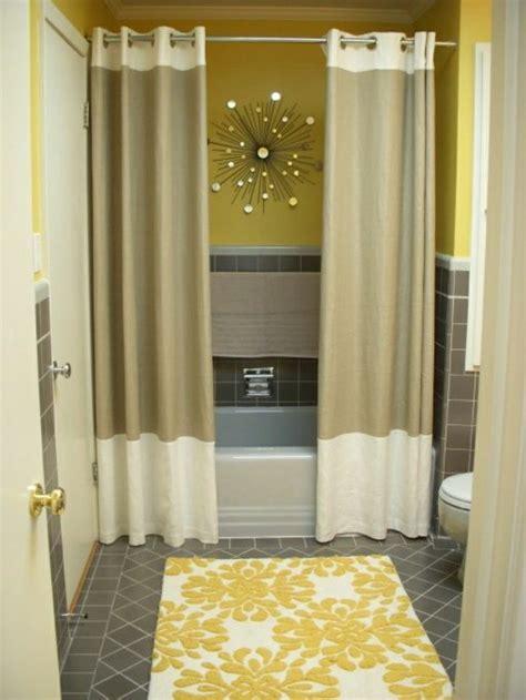Badezimmer Gelb Dekorieren by Schenken Sie Ihrer Wohnung Moderne Gardinen