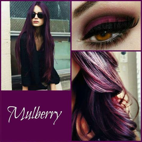 mulberry hair color 17 best images about hair colors on funky