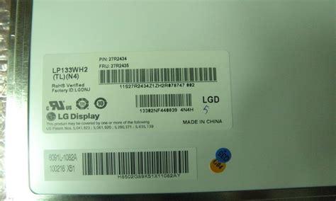 Lcd Led 14 0 Laptop Toshi 133 new a slim led lp133wh2 tln4 1366 768 lg china