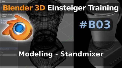 blender tutorial pdf deutsch blender 3d einsteiger training b03 modeling