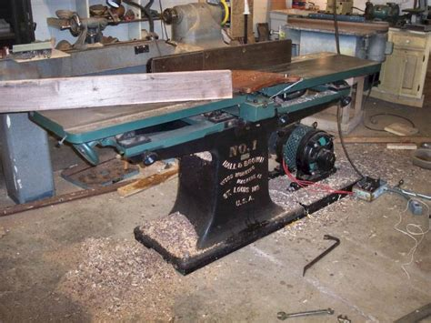 and brown 12 quot jointer restoration power and tools messing about forums