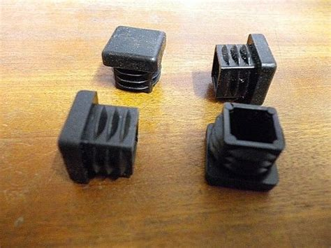 plastic end caps for box section steel pack of 8 20mmx20mm plastic end caps for metal box section