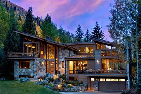 colorado mountain home plans colorado mountain home by suman architects leaves your