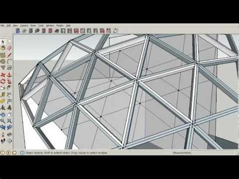 Software To Make Floor Plans Geodesic Dome Framing Plan Tutorial 5 Construction Youtube