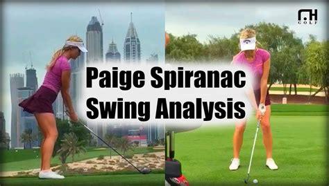 swing analysis spiranac swing analysis