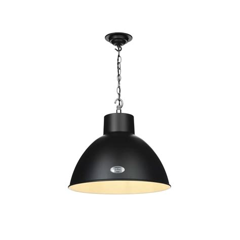 Single Pendant Ceiling Lights David Hunt Lighting Utility Single Light Small Ceiling Pendant In Matt Black Finish Lighting