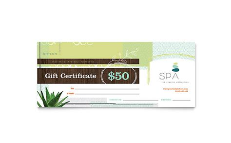 publisher templates for gift certificates day spa gift certificate template word publisher