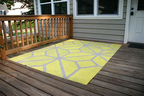 paint  outdoor area rug checking   chelsea