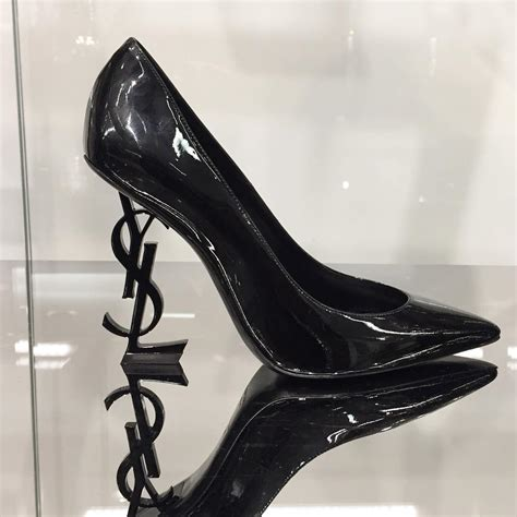 Ysl Heels by Ysl Fashion Week Stiletto Pumps Ysl Shaped Heels
