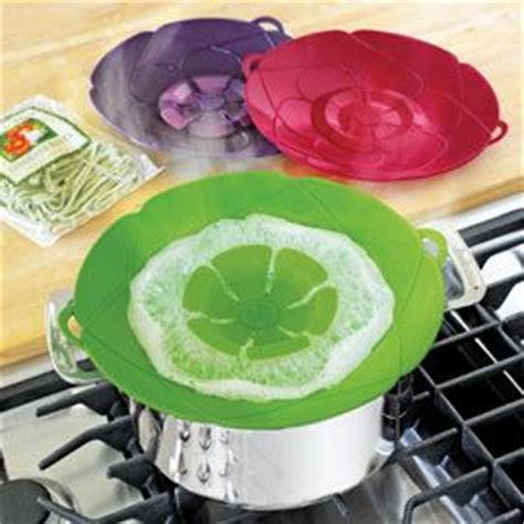 Penutup Panci Spill Stopper Boiling boil spill stopper kuhn rikon boil lid silicone lid solutions home