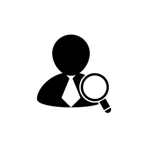 Free Username Lookup User Search Icon Free Icons