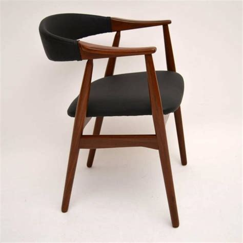set of eight afromosia dining chairs by farstrup