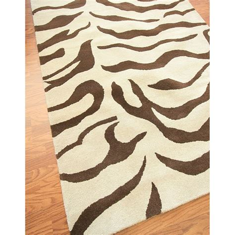 brown and white zebra rug brown zebra area rug rug designs