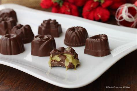cioccolatini fatti in casa ripieni cioccolatini ripieni