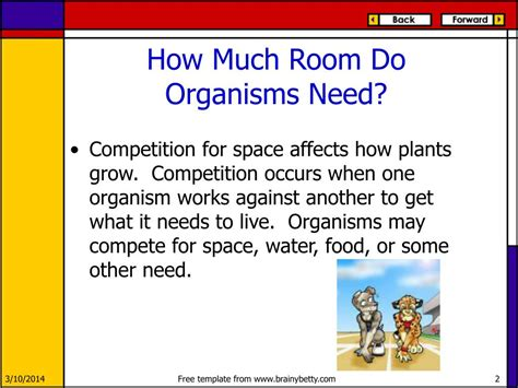 ppt competition among living things powerpoint