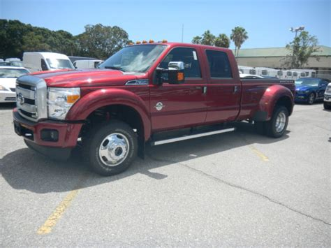 2016 Ford Dually by 2016 Ford F 350 Platinum Dually Navigation 5th Wheel Prep