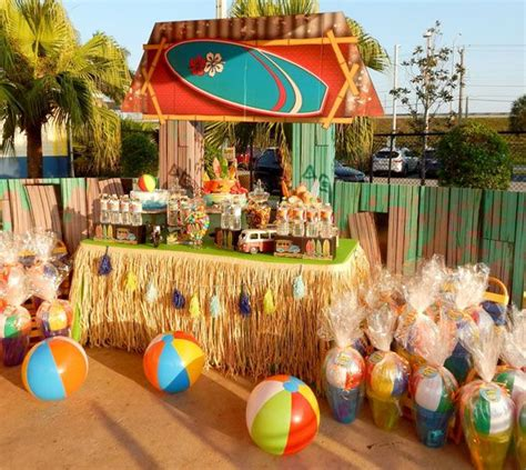 summer themed events beach bash birthday party birthdays beaches and movie party