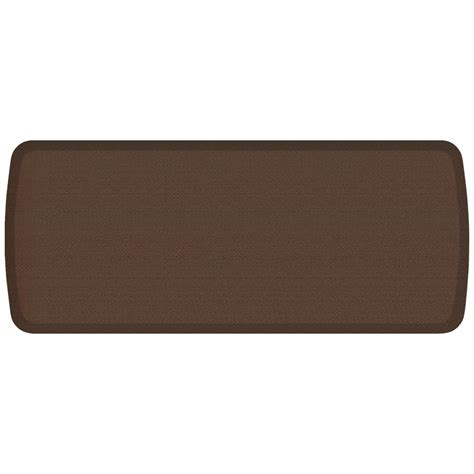 comfort kitchen mat gelpro elite rattan redwood 20 in x 48 in comfort