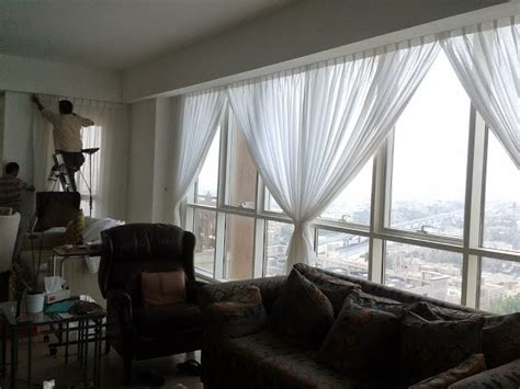curtain and blind installation fixing of curtains and blinds installation service