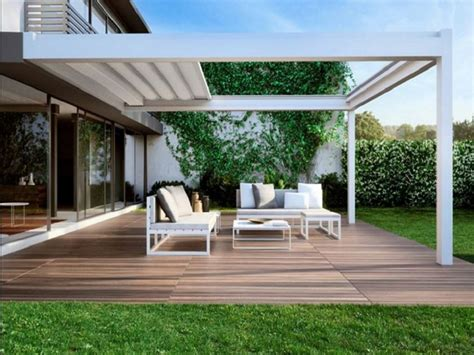 coperture per terrazzi strutture mobili per terrazzi