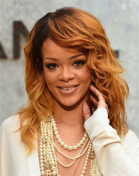 Rihanna Curly Hairstyles by Top 100 Hairstyles For 2014