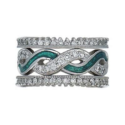 hidalgo stackable rings deco collection set rr1549