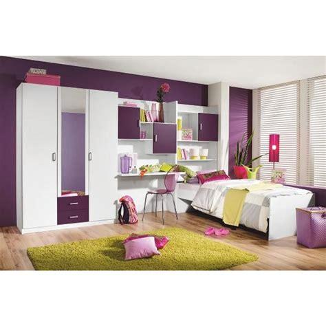 jugendzimmer lila weiß wohnwand selber bauen