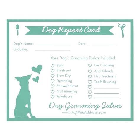 Pet Sitting Report Card Template Spitznas Info Walking Report Card Template