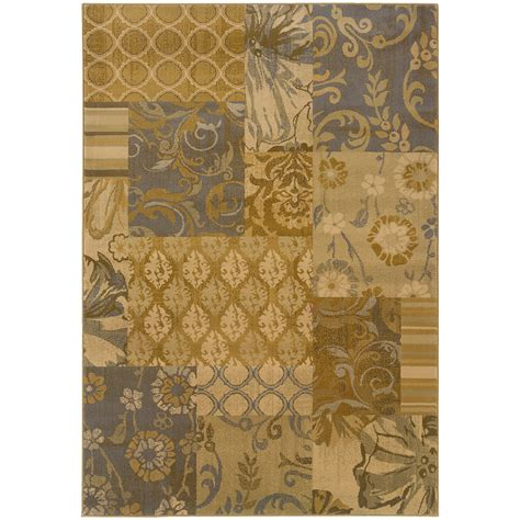 Grey And Gold Area Rugs Weavers Stella 3281b Gold Grey Area Rug Rugsale