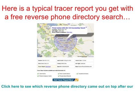 Free Phone Lookup Reviews How To Get A Free Phone Directory Search
