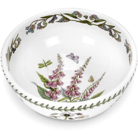 portmeirion botanic garden salad bowl portmeirion botanic garden salad bowl 25cm foxglove