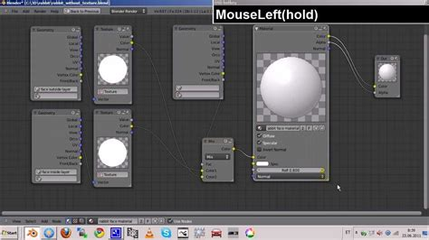 blender 2 5 texture paint and 2 side texture tutorial no audio annotations instead