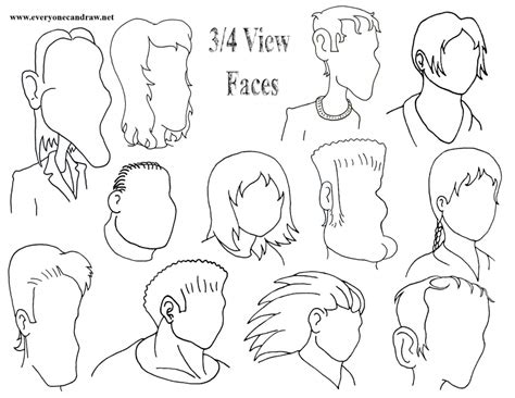 How To Draw Caricature Faces Step By Step draw faces draw step step caricature