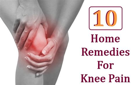 10 home remedies for knee diy health remedy
